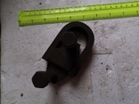 Скоба карабин металлический зажим замок тяга кронштейн прицеп, фото №7