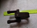 Скоба карабин металлический зажим замок тяга кронштейн прицеп, фото №13