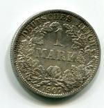 1 марка 1907 г. Монетный двор A, фото №2