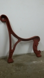 Лавка, нога чавун (Скамейка Чугун), фото №7