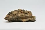 Фрагмент фульгурита, 7,9 грам, з серитфікатом автентичності, фото №6