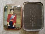 Коробка Edward Sharp and Sons Ltd Queen Elizabeth королева Елизавета 50 годы, фото №2