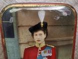 Коробка Edward Sharp and Sons Ltd Queen Elizabeth королева Елизавета 50 годы, фото №5