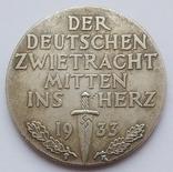 Германия. Третий Рейх. Der deutschen zwietracht mitten ins herz (копия), фото №3