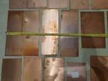 Ламель медная двухсторонняя ,1 мм,вес 2140гр,лот 3, фото №3