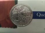 1 Доллар 2002 50 лет правлению Королевы Елизаветы II (Серебро 0.925, 25.18г), Канада, фото №8