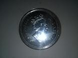 1 Доллар 2002 50 лет правлению Королевы Елизаветы II (Серебро 0.925, 25.18г), Канада, фото №9