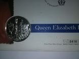 1 Доллар 2002 50 лет правлению Королевы Елизаветы II (Серебро 0.925, 25.18г), Канада, фото №13