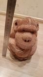 Сувенир с Сейшельских островов. Обезьяна из кокосового ореха. фото 5