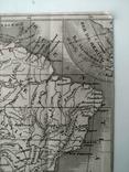 1830 Южная Америка, карта (17х17) СерияАнтик, фото №4