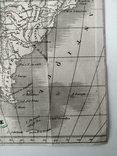 1830 Южная Америка, карта (17х17) СерияАнтик, фото №6