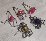 Новогоднее  игрушки стеклярус, фото №3