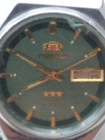 Японские часы ORIENT три звезды, фото №7