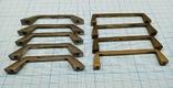 Ручки мебельные латунные, фото №3