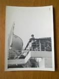 Теплоход Россия, порт приписки Одесса, женщина на борту, фото №2