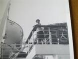 Теплоход Россия, порт приписки Одесса, женщина на борту, фото №3