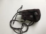 Кошелек сумочка, замша натуральная, Германия., фото №2