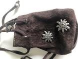 Кошелек сумочка, замша натуральная, Германия., фото №3