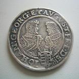 Саксония, 1/2 талера 1610 года, фото №2