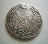 Саксония, 1/2 талера 1610 года, фото №3