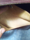 Борсетка ссср шкіра, фото №3