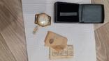 Часы ракета позолота  ау 20 с паспортом и чеком, фото №9