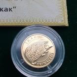 Золото 2 гривні 2006 Їжак, фото №4