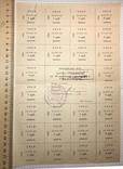 Картка споживача 50 крб., травень 1991 / Кіровоградський педінститут, фото №3
