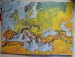 Большой атлас мира на английском переиздание 1969 год, фото №5