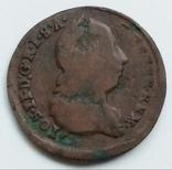 1/2 крейцера 1776 г. Австрия, фото №2