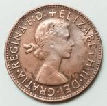1 пенни 1960 г. Австралия, фото №3