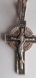 Серебряный (925) крестик  1,39  гр., фото №3