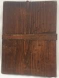 Ікона Богородиці,на дерев'яній дошці., фото №3