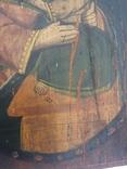 Ікона Богородиці,на дерев'яній дошці., фото №7