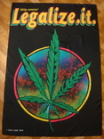 Плакат на ткани или флаг Конопля 1996 год, фото №2