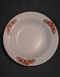 Тарелка эмалированная с узором, фото №2