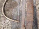 Пилы дружба двуручные старые СССР 3 штуки промысел реманент плотничество, фото №6