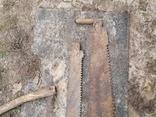 Пилы дружба двуручные старые СССР 3 штуки промысел реманент плотничество, фото №12