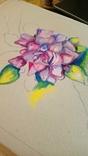 Акриловый цветок Сочность, фото №4