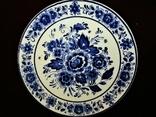 Настенная тарелка клеймо DELFTs Делфт Голландия, фото №3