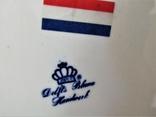Настенная тарелка клеймо DELFTs Делфт Голландия, фото №8