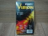 Видеокассета EMTEC 180. Запечатанная., фото №3