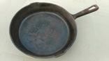 Чугунная сковорода из СССР - 24 см, фото №2