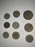 Монети 1924 р. 9 шт, фото №2