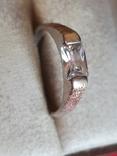 Колечко серебро 925 проба. Размер 18.5, фото №2