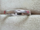 Колечко серебро 925 проба. Размер 18.5, фото №6