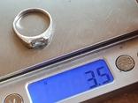 Колечко серебро 925 проба. Размер 18.5, фото №7
