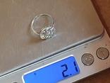 Колечко серебро 925 проба. Размер 16, фото №7
