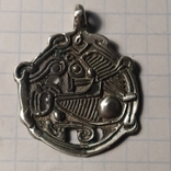 Амулет скандинавского типа серебро копия, фото №2