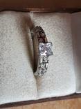 Современное кольцо. Серебро 925 проба. Размер 18.5, фото №2